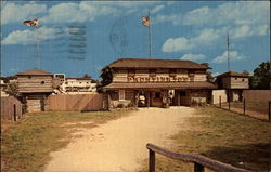 The Fort, Frontier Town Entrance