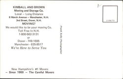 Kimball & Brown Moving & Storage Co