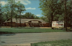 Houghton Lake Playhouse Postcard