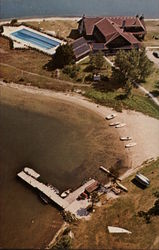 Aerial View, Old Mill Point, Cedar Campus