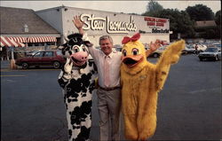 """Stew, Clover Cow, and Daphe Duck"", Stew Leonard's"