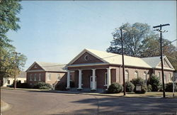 Eutaw Baptist Church Postcard