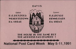 National Post Card Week May 5-11, 1991