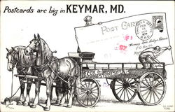 Postcards are Big in Keymar