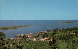 Copper Harbor as Viewed from Brockway Drive Postcard
