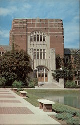Purdue University - Main Entrance to the Purdue Memorial Union Building