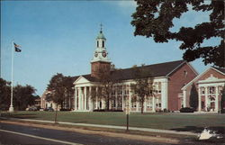 Central Connecticut State College Postcard