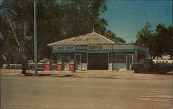 Ole's Service Station - Motel - Stock Farm