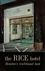 The Rice Hotel Postcard