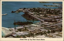 Aerial View of Key West Naval Station
