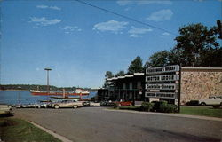 St. Clair Fisherman's Wharf Restaurant and Motor Lodge Postcard