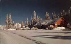 Mid-Winter at the Summit of Monarch Pass