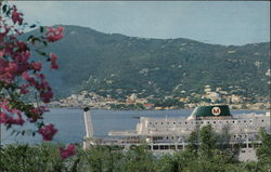 Charlotte Amalie Harbor as Seen From the West India Company Postcard