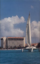 The American Aruba Hotel and Casino Postcard