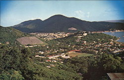 Bird's Eye View of the City of Charlotte Amalie, St. Thomas