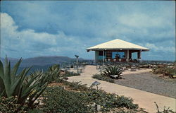 Top of Aerial Tramway - St. Thomas Postcard