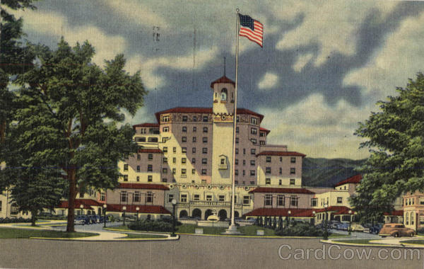 The Broadmoor Hotel and Its Surrounding Wings Colorado Springs