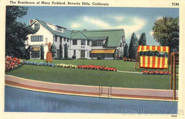 The Residence of Mary Pickford Beverly Hills California