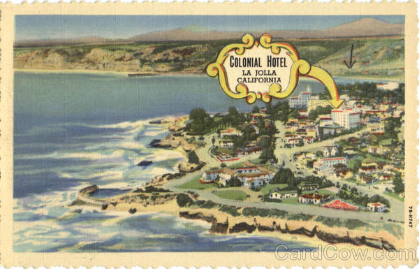 Colonial Hotel La Jolla California