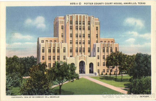 Potter County Court House Amarillo Texas