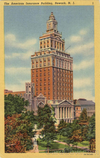 The American Insurance Building Newark New Jersey