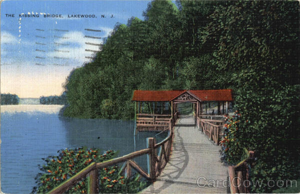 The Kissing Bridge Lakewood New Jersey