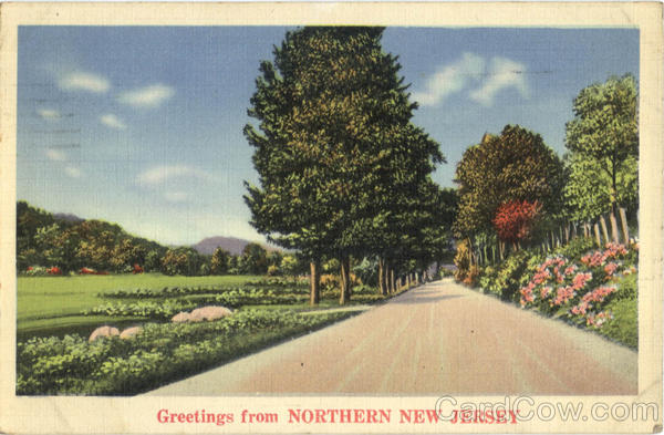 Greetings From Northern New Jersey Scenic