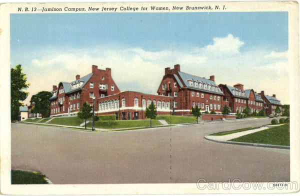 Jamison Campus, New Jersey College for Women New Brunswick