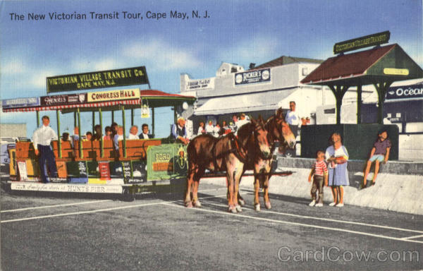 The New Victorian Transit Tour Cape May New Jersey