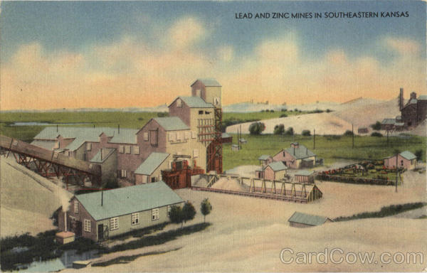 Lead And Zinc Mines in southeastern Kansas Mining