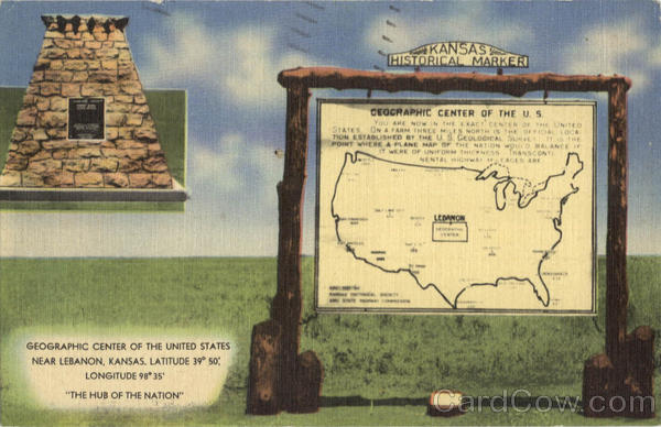 Geographic Center Of The U.S Scenic Kansas