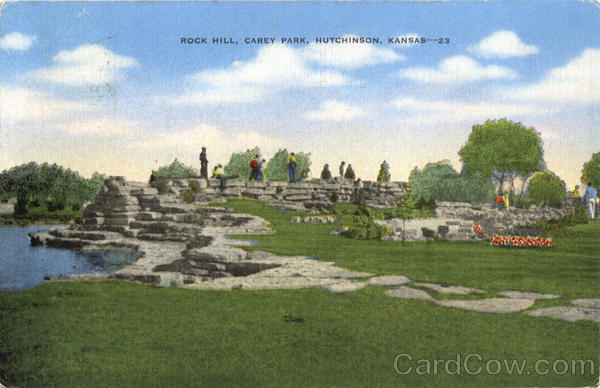 Rock Hill Carey Park Hutchinson Kansas