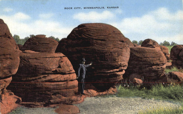 Rock City Minnepolis Kansas