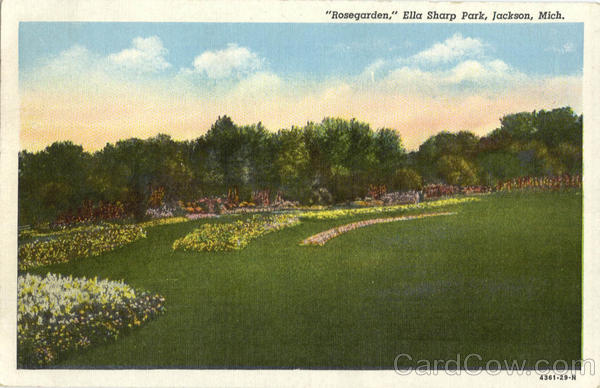 Rosegarden, Ella Sharp Park Jackson Michigan