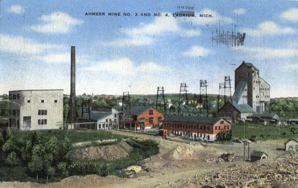 Ahmeek Mine No. 3 And No. 4 , BN Laurium Michigan