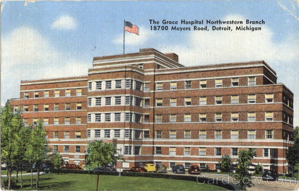 The Grace Hospital Northwestern Branch Detroit Michigan