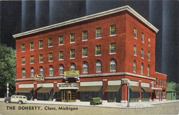 The Doherty Hotel Clare Michigan