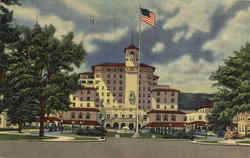 The Broadmoor Hotel and Its Surrounding Wings