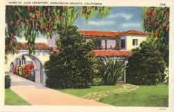 Home of Joan Crawford