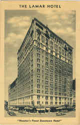 The Lamar Hotel Postcard