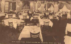 Main Dining Room Ye Old College Inn Postcard