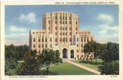 Potter County Court House Postcard