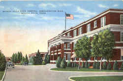 Wichita Falls State Hospital, Administration Bldg. Postcard