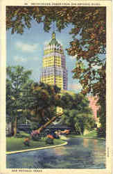 Smith Young Tower From San Antonio River Postcard
