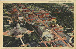 Aeroplane View of Topeka