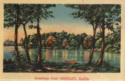 Greetings From Greeley Postcard