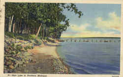 Burt Lake In Northern Michigan