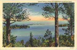 Grand Marais From The Keweenaw Mountain Drive Postcard