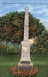 Marquette Monument, Indian Village
