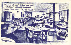 Hotel Olds Coffee Shop